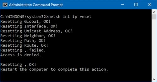 cach sua loi unidentified network tren windows 10 6