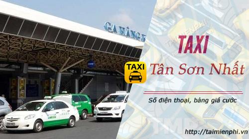 taxi tan son nhat