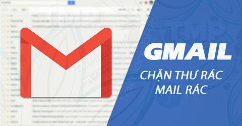 chan thu rac trong gmail