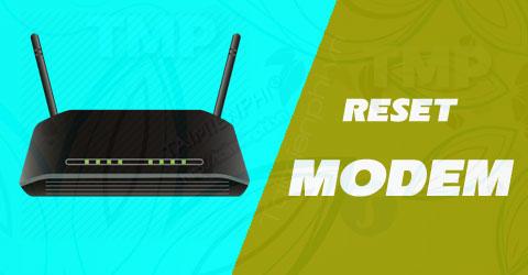 reset modem