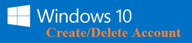 tao user windows 10 va xoa user windows 10