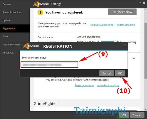 Register for avast free antivirus 2015