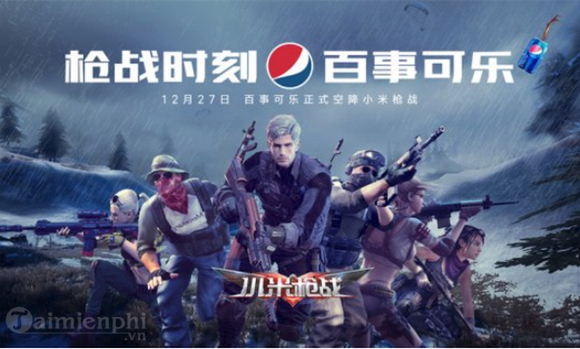 game thu co the thay bien quang cao pepsi dung nuoc giai khat pepsi ngay trong game sinh ton nay