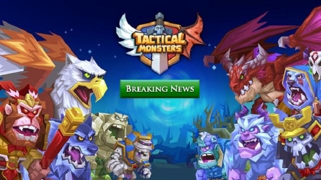 monsters tactical rumble arena game chien dau doi hinh quai vat hap dan khai mo tren ios