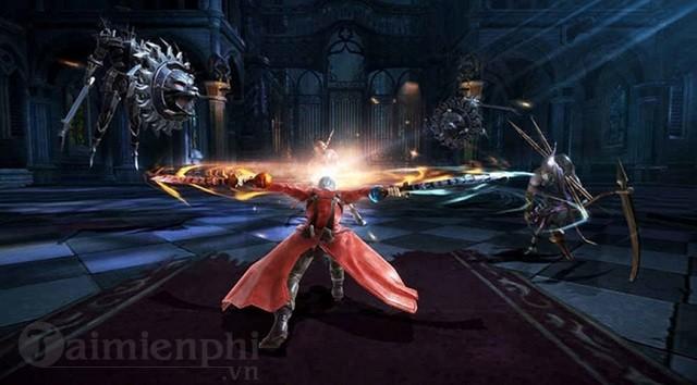 devil may cry pinnacle of combat da mo cua dang ky cho game thu android