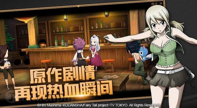 fairy tail game dang duoc tencent phat trien dua tren series truyen tranh noi tieng