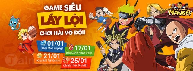 lien quan manga game mobile bua khong loi thoat se phat hanh tai viet nam