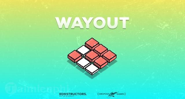wayout game xep hinh vui nhon den tu dropout games sap sua ra mat game thu