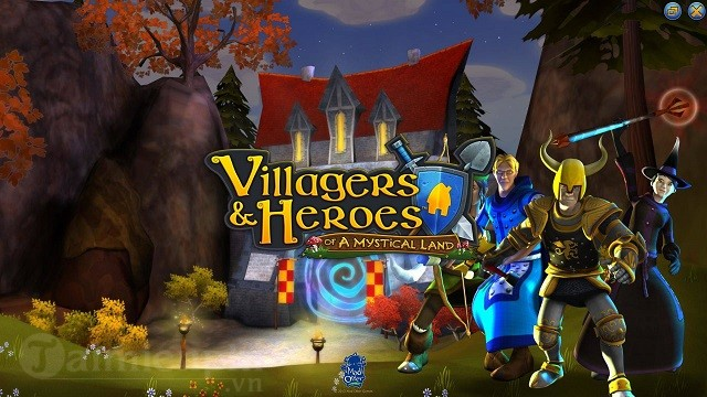 villagers and heroes game nhap vai phieu luu the gioi phuong tay len ke ios ngay 26 01