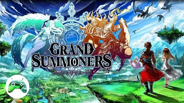 grand summoners game rpg hap dan chuan bi xuat sang thi truong my