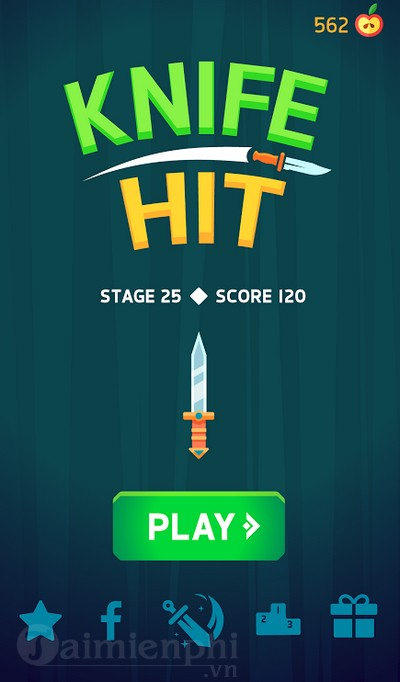 knife hit game phi dao giup ban xa stress hieu qua