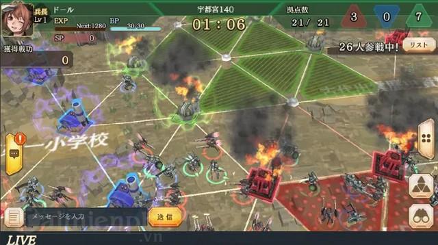 sangoku justice game anime nhat ban sieu chat se co ban closed beta som