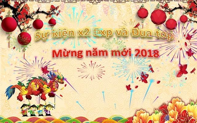 chu be rong online x2 kinh nghiem va dua top chao xuan 2018
