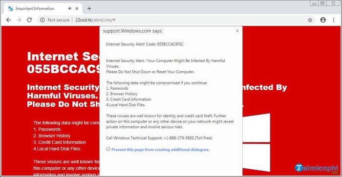 Cảnh báo công nghệ scam mới khiến Chrome ngốn 100% CPU