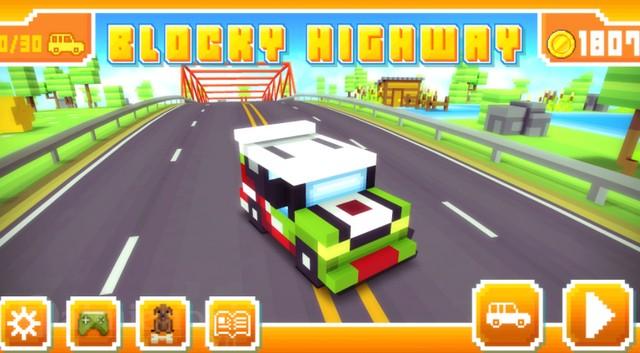 blocky racing game dua xe thu vui nhon voi do hoa vo cung dang yeu