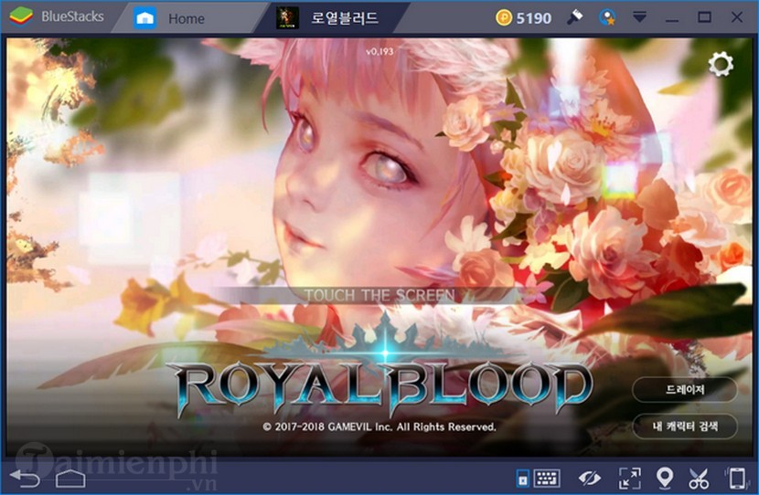 cach tao nhan vat game royal blood