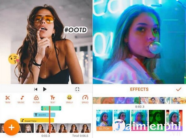 app edit video tiktok