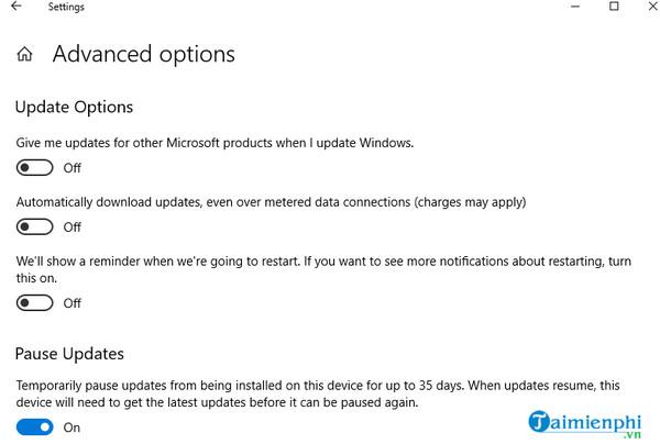 tat update windows 10