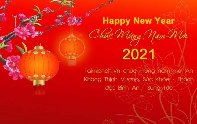 Cách tạo thiệp chúc mừng năm mới 2021 online không cần phần mềm
