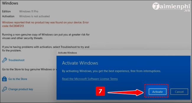 cach Active win 11