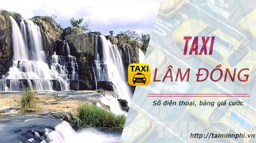 taxi lam dong