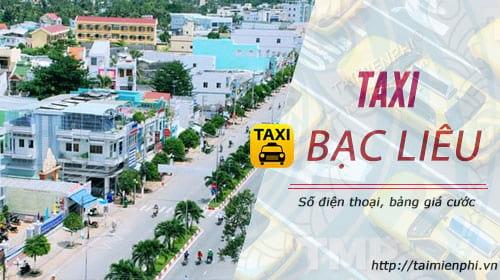 taxi bac lieu gia cuoc so dien thoai