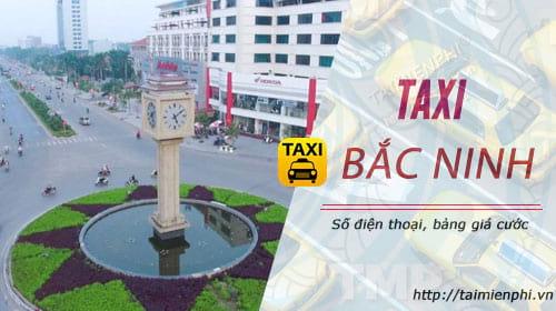 taxi bac ninh gia cuoc so dien thoai