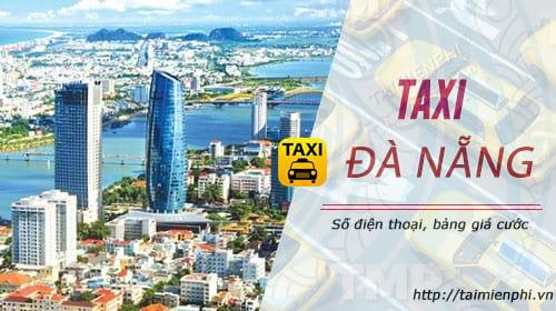 Taxi Đà Nẵng, số điện thoại, giá cước