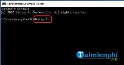 Cách chống phân mảnh ổ cứng Windows 10 6