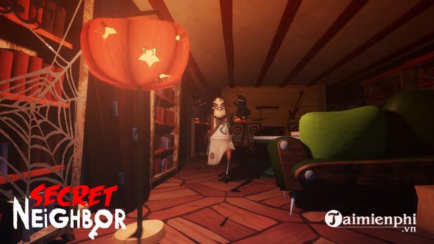 Secret Neighbor nhận bản cập nhật mới mang chủ đề Halloween