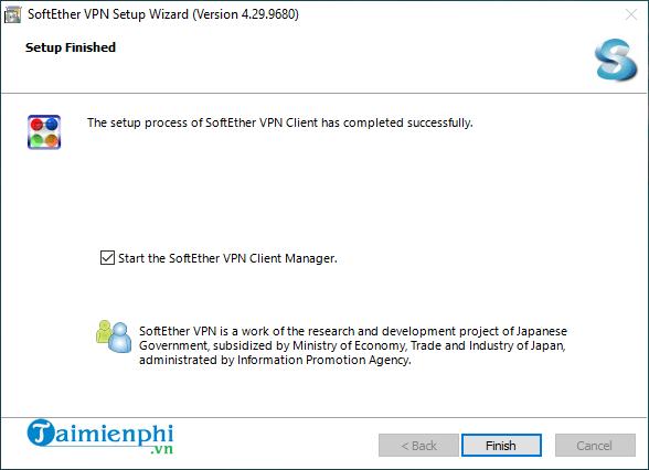setup softether vpn client