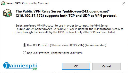 cach fake ip bang softether vpn client manager 4