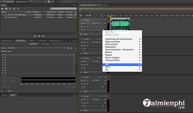 cach cai dat auto tune trong adobe audition 3