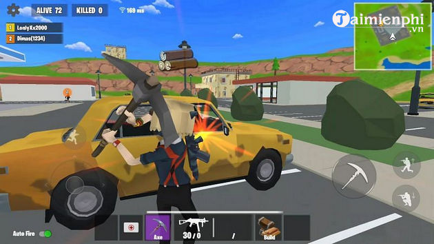 Top 5 game Android hay như Fortnite dưới 200 MB
