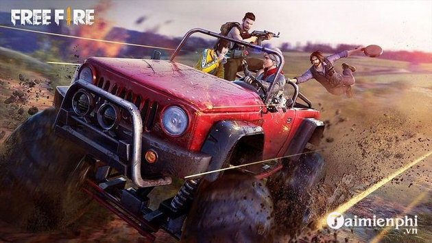 Can you see monster truck in free fire?