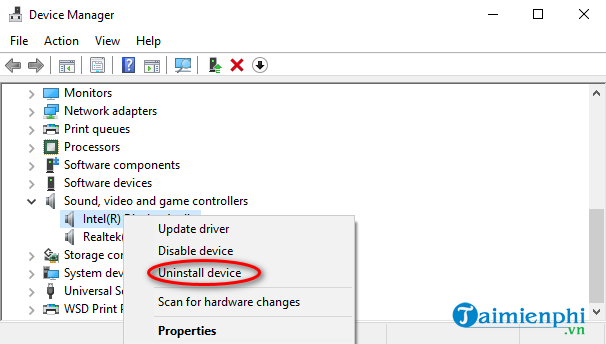 may tinh bi mat tieng sau khi update windows 10 4