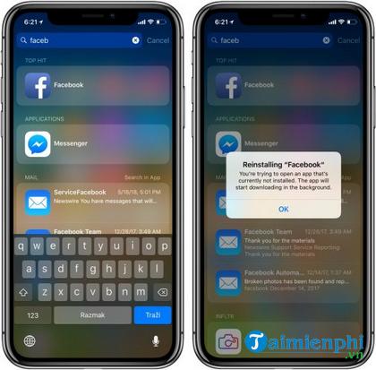vi sao facebook dang nhap tren iphone khong duoc 6