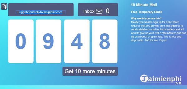 top website create mail, mail pond 1 lan 2