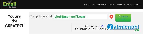 top website create mail, mail pond 1 lan 9