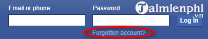 What should I do with the hacked Facebook account?