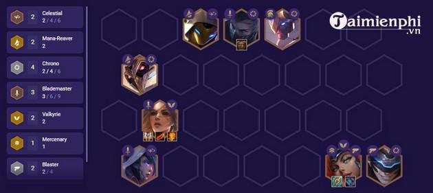 Top đội hình mạnh nhất DTCL 3 3