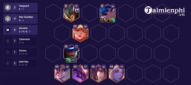 Top đội hình mạnh nhất DTCL 3 6