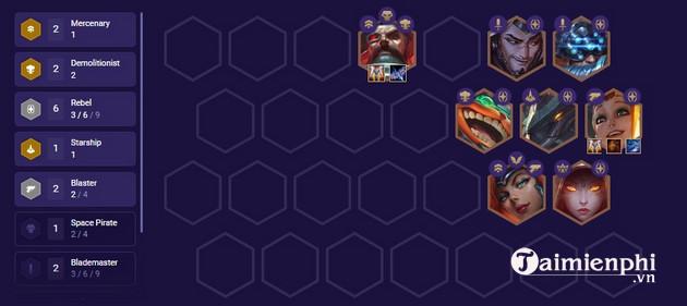 Top đội hình mạnh nhất DTCL 3 9