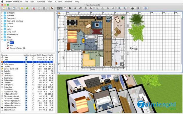 Phần mềm vẽ mặt bằng và sơ đồ nhà 3D chuyên nghiệp mà bạn cần biết