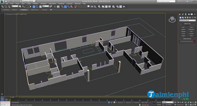 How to create 3d houses with autodesk 3ds max space