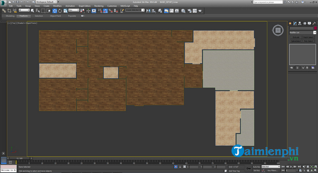 How to create a house by autodesk 3ds max