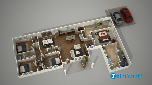 How to create 3d houses with autodesk 3ds max for everyone