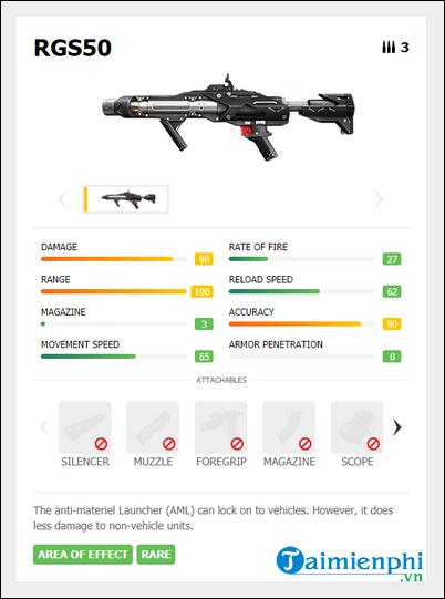 Cách sử dụng súng phóng lựu trong Garena Free Fire