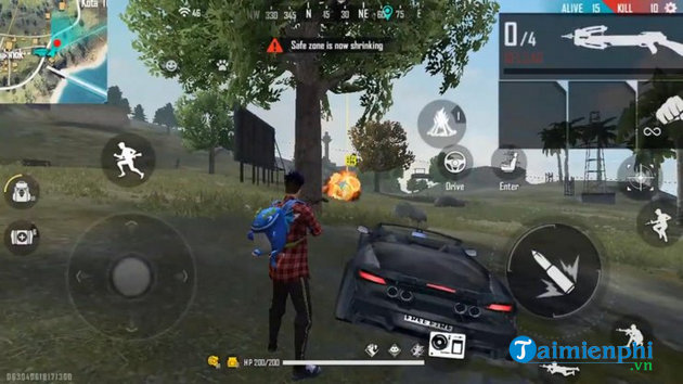 no crossbow in garena free fire 4