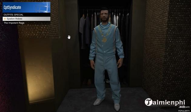 Cách nhận trang phục bí mật Epsilon trong GTA Online